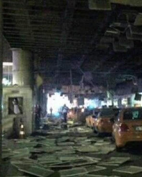 Patlama sonrası görüntüler 54