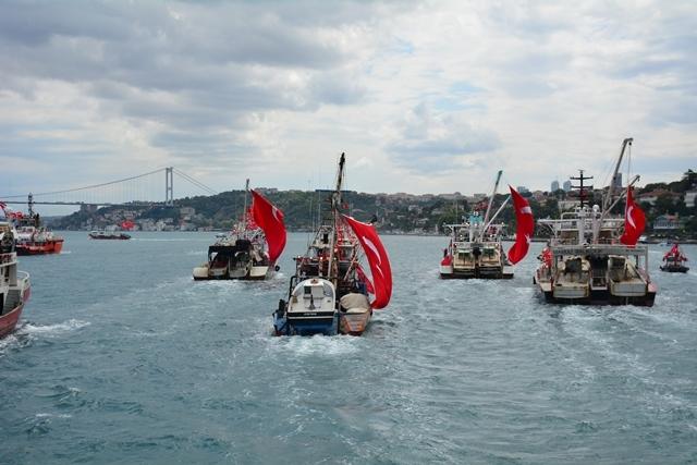Denizciler Milli İrade'nin yanında 17