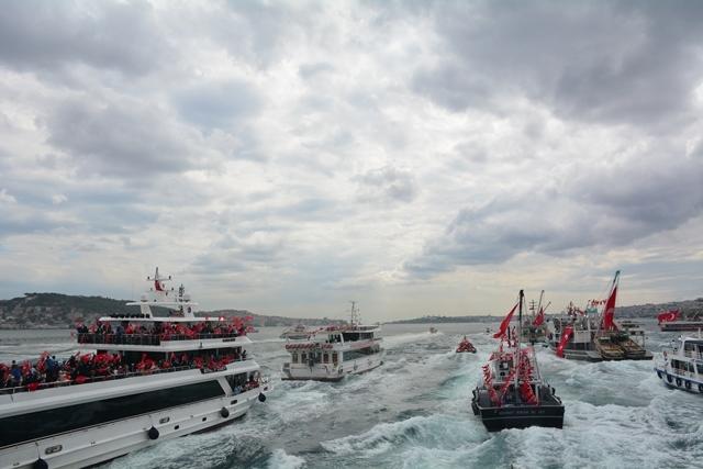 Denizciler Milli İrade'nin yanında 20