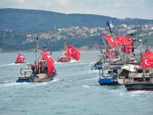Denizciler Milli İrade'nin yanında