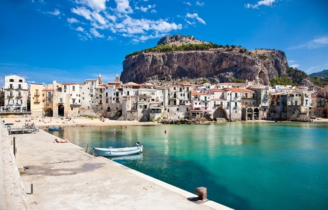 """Godfather"" filminin doğal seti Sicilya 5"