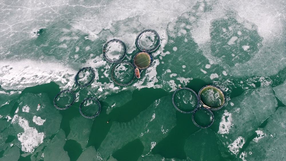 Zernek Baraj Gölü böyle görüntülendi 1