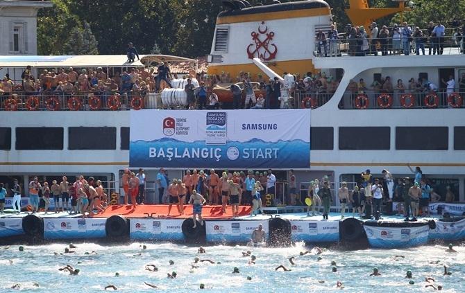 29. Samsung Boğaziçi Kıtalararası Yüzme Yarışı 1