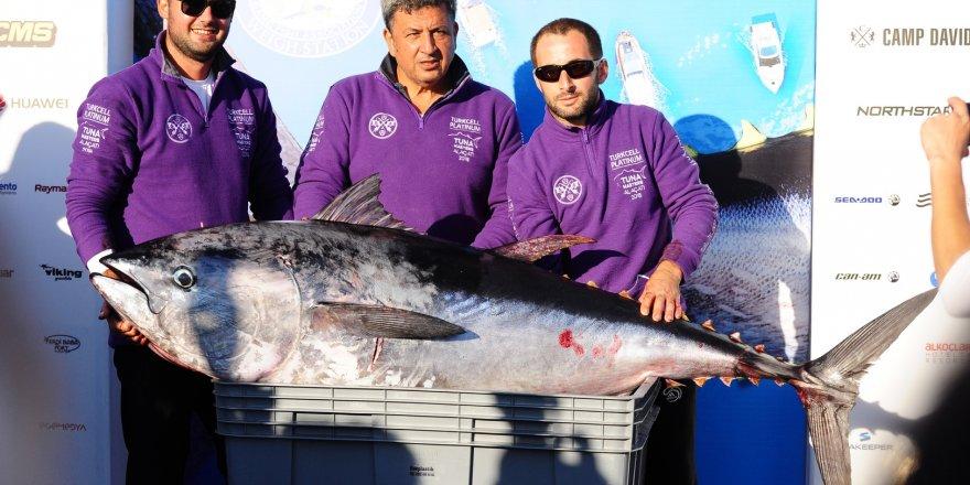 Tuna Masters Alaçatı nefes kesti