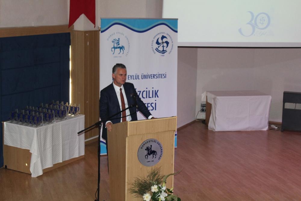 DEÜ Denizcilik Fakültesi 30.yılını kutladı 1