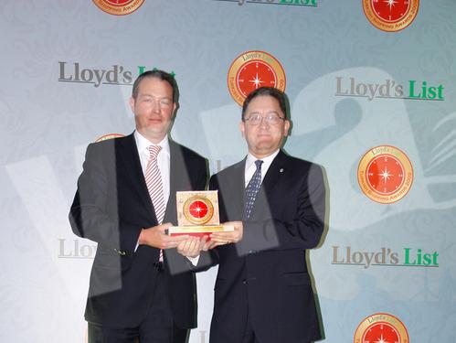 Lloyd's List Ödül Töreni'nden kareler 12