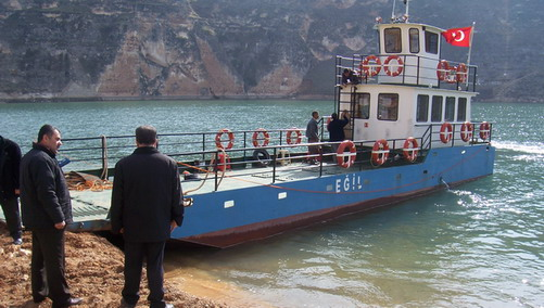 Anadolu denizine kavuştu 6