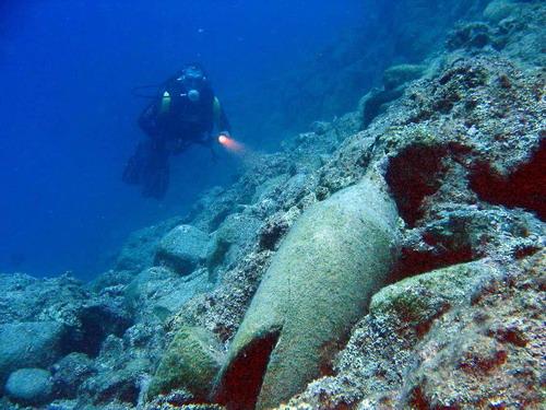 Korsan limanında arkeoloji ve doğal güzellik görüntülendi 7
