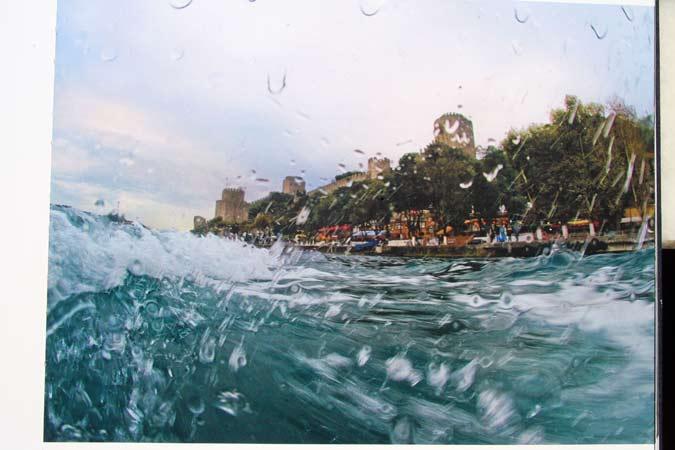 'Balık gözünden' İstanbul Boğazı 15