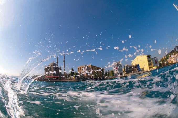 'Balık gözünden' İstanbul Boğazı 16