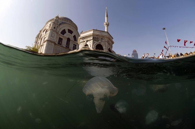'Balık gözünden' İstanbul Boğazı 2