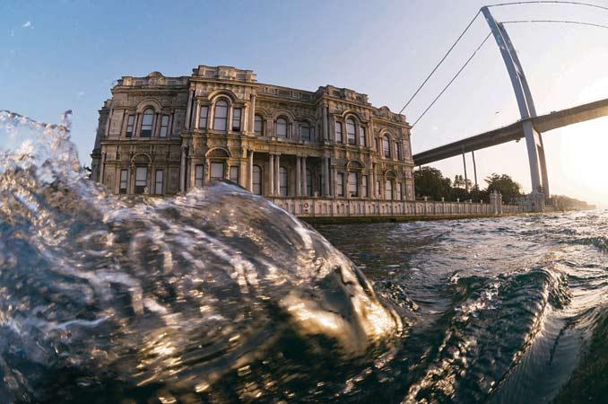 'Balık gözünden' İstanbul Boğazı 20