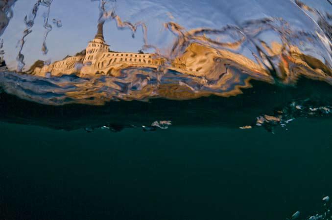 'Balık gözünden' İstanbul Boğazı 23