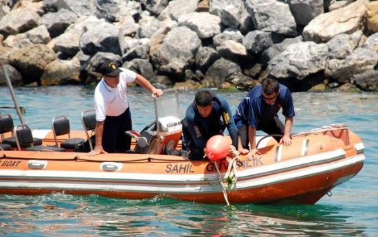 Denizde kaybolan kaptanın fotoğrafları 1