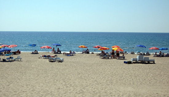 Yaz geldi, plajlar şenlenmeye başladı 20