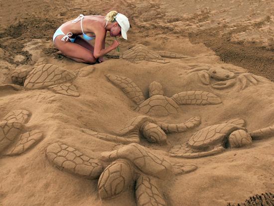 Yaz geldi, plajlar şenlenmeye başladı 29