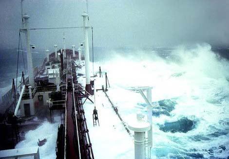 Denizde dehşet anları 37