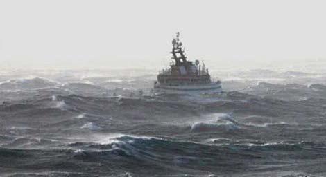 Denizde dehşet anları 7