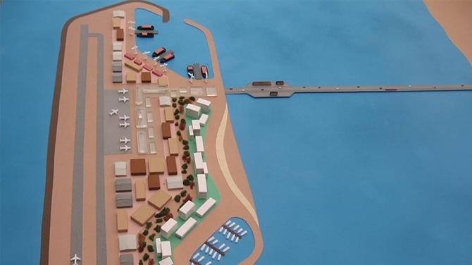 İsrail, Filistin için yapay ada inşa edecek