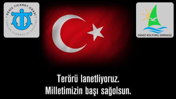 Denizcilik sektörü Atatürk Havalimanı'ndaki saldırıyı kınadı