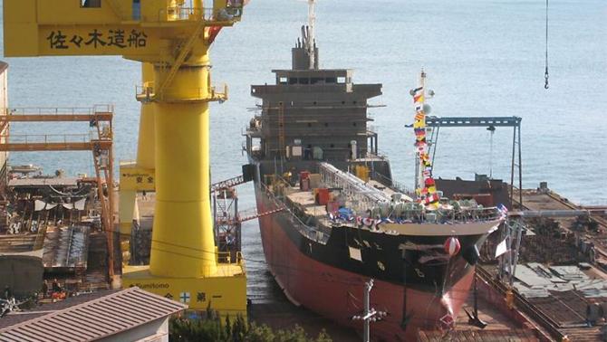Japonya'ya verilen gemi siparişlerinde düşüş