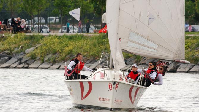 Deniz Kızı Ulusal Kadın Yelken Kupası için heyecan dorukta