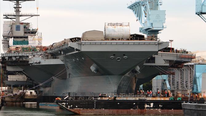 USS Gerald R. Ford'un teslimatı ertelendi