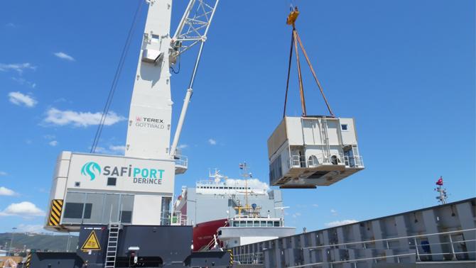 Safiport'un liman genişlemesine onay