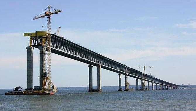 Kerç köprüsünü Rusya Deniz Kuvvetleri koruyacak
