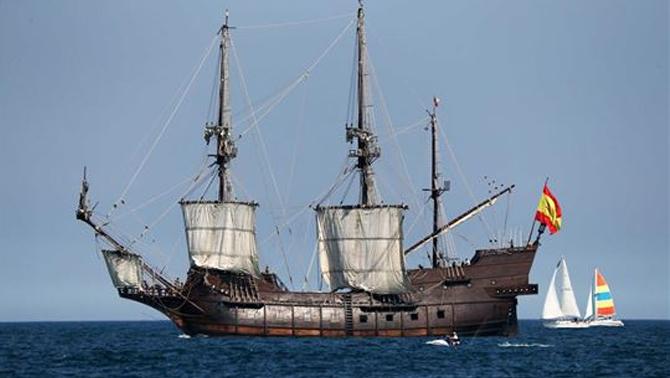 Amerika'da tarihi gemi geçit töreni yapıldı