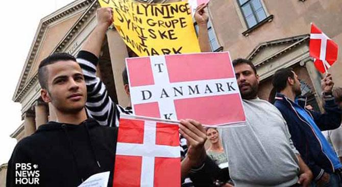 Danimarka'da sığınmacılar için sokağa çıkma yasağı talebi