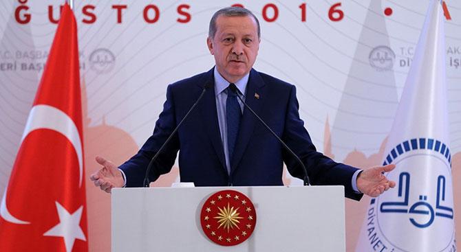 Erdoğan: Bugün Türkiye yeni bir istiklal mücadelesi içindedir