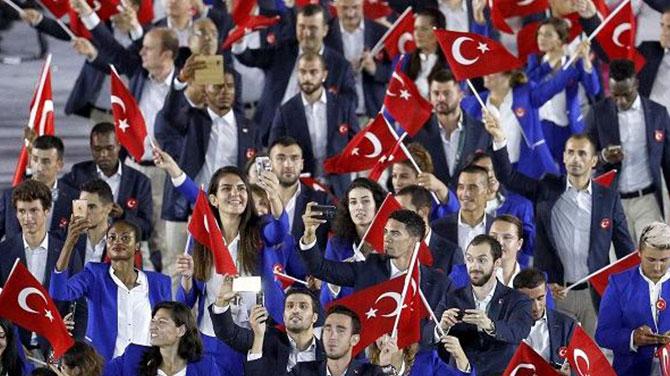 2016 Rio Olimpiyatları başladı