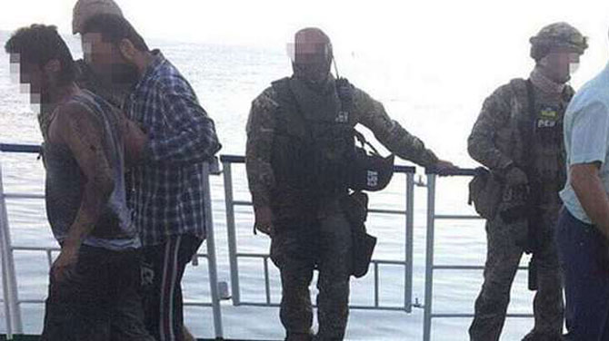 Ukrayna'da Türk gemisine rehine operasyonu