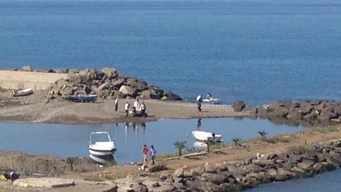 Kum girişi kapattı, liman göle döndü