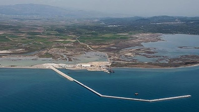 Üç denizde üç büyük liman hedefi