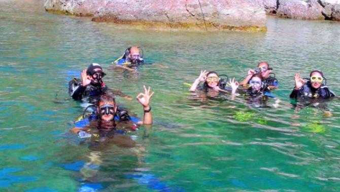 """Dalış turizmi için su altına """"15 Temmuz Demokrasi Parkı"""""""