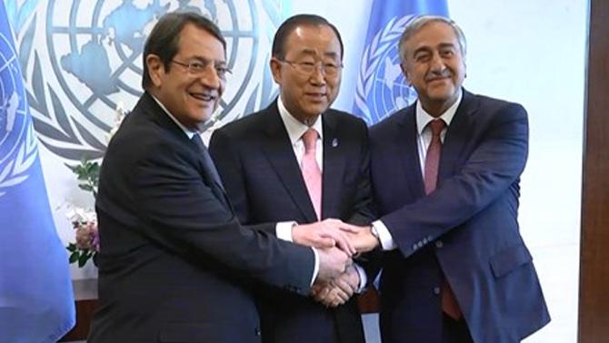 Birleşmiş Milletler'de Kıbrıs için üçlü zirve