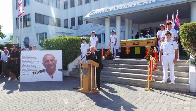 Kaptan Efdal Safel Son Yolculuğuna Uğurlandı