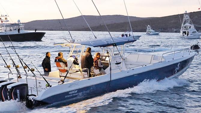 Uluslararası Balıkçılık Turnuvası'nda son 10 yılın rekoru