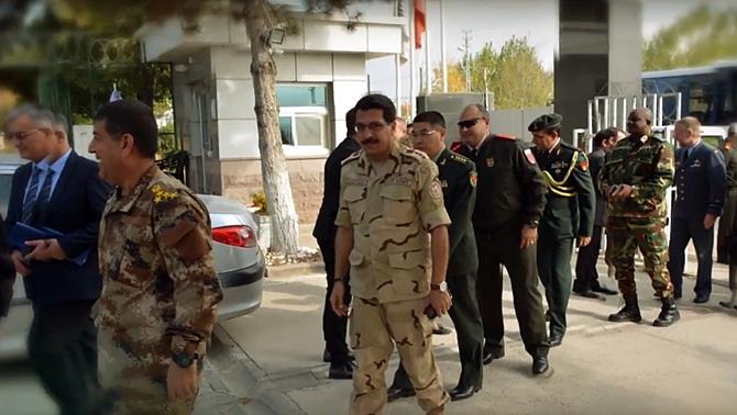 Ankara Askeri Ataşeler Birliği'nden BİTES'e ziyaret