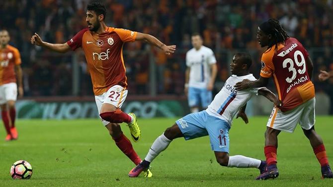 Trabzonspor fırtınası Galatasaray'ı sarstı
