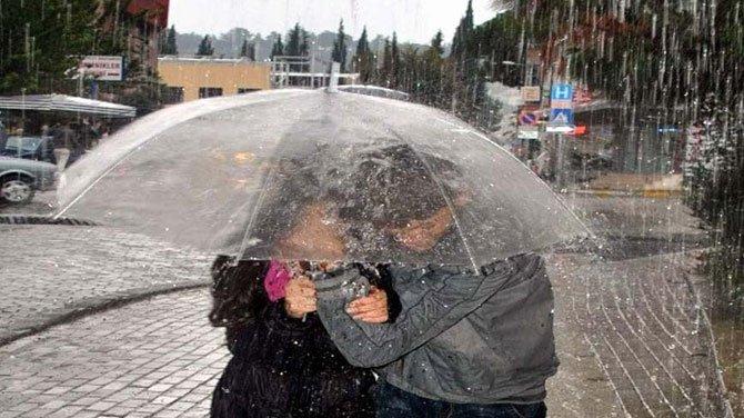 Meteoroloji'den 3 il için kuvvetli sağanak uyarısı