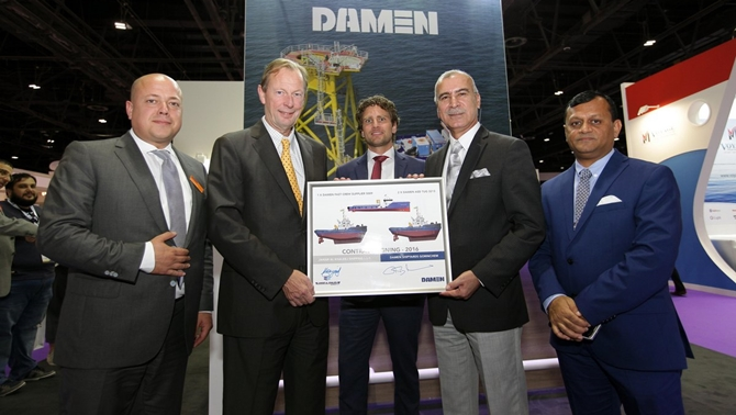 Contract signed for new vessels