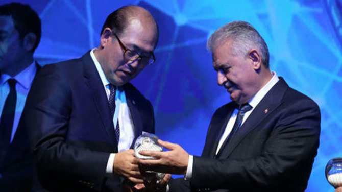 Başbakan, IMO Genel Sekreteri Kitack Lim'i kabul etti