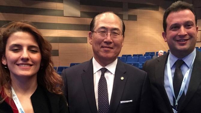 İTÜ-GİMDER, IMO Genel Sekreteri ile bir araya geldi