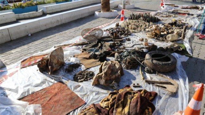 Antalya Kaş'ta üzücü manzara