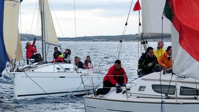 İzmir Sonbahar Trofesi'nde Coğrafi Rota Yarışı