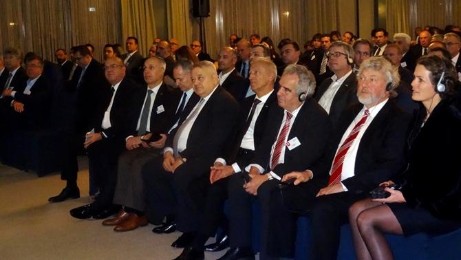 GİSBİR, Hamburg-İstanbul Shipping Dinner 2016'ya katıldı