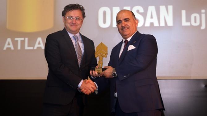 Yılın en iyi lojistik firması OMSAN oldu